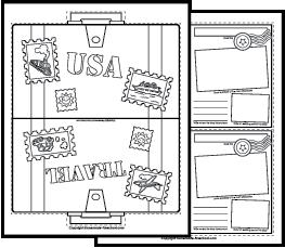Read Across America Worksheets