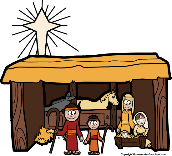 free nativity clipart rh homemade preschool com nativity clip art free printable nativity clip art free download