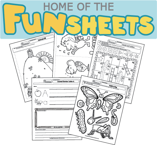 Fun Art Worksheets : Preschool art worksheets
