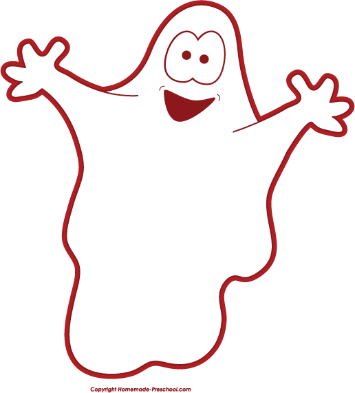 free halloween clipart rh homemade preschool com cute ghost clipart black and white cute ghost clipart images