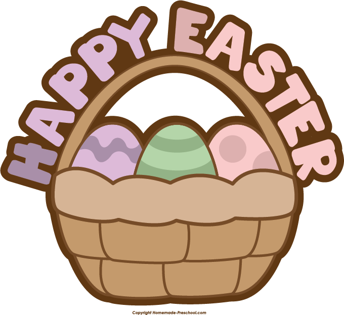 free easter basket clipart - photo #33