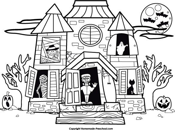 halloween coloring pages preschool - photo#46