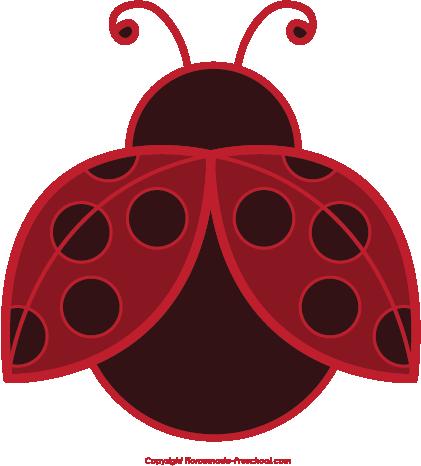 free ladybug clipart rh homemade preschool com free cute ladybug clipart free ladybug clip art borders