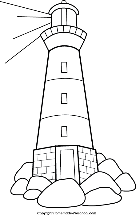 free lighthouse clipart rh homemade preschool com lighthouse clipart free download free lighthouse clipart images