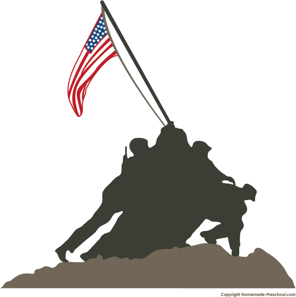 clip art for veterans memorials � cliparts