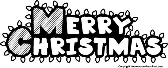happy christmas clipart