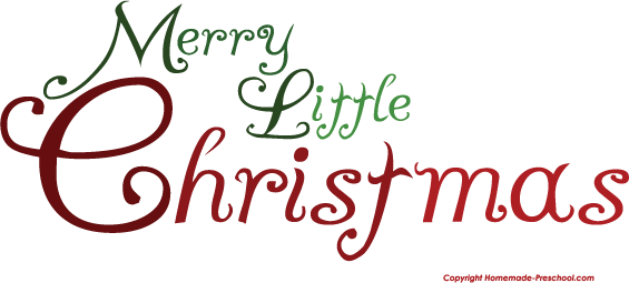 click to save image - Merry Little Christmas