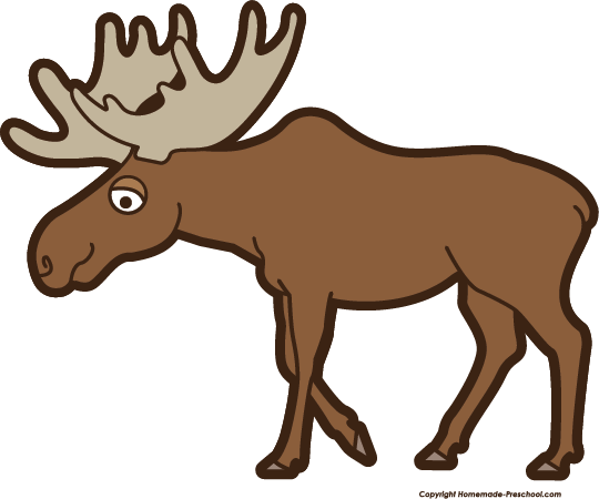Clip Art Moose Clipart free moose clipart click to save image