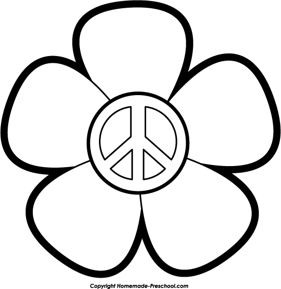 Free peace sign clipart click to save image lace peace sign voltagebd Choice Image