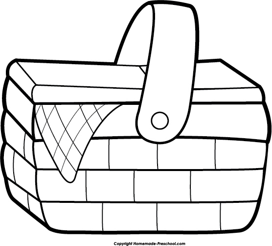 Clip Art Picnic Basket Clip Art free picnic clipart click to save image sunny picnic