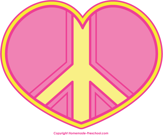 Clip Art Peace Sign Clipart free peace sign clipart click to save image