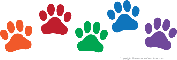 photo about Free Printable Paw Prints called Cost-free Paw Prints Clipart
