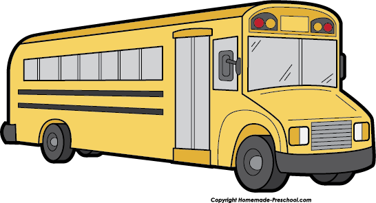Clip Art Clipart Bus free school bus clipart click to save image