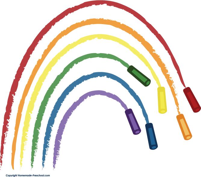 Free Educational Clip Art Rainbows
