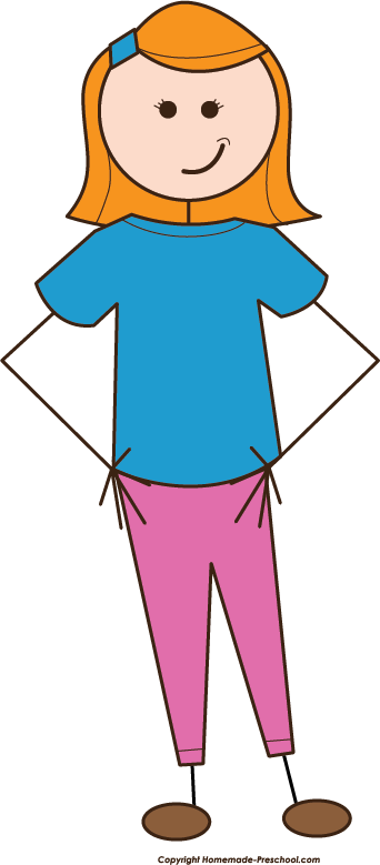 Free Stick People Clipart