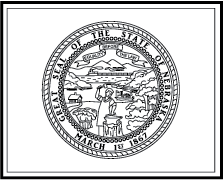 Nebraska State Flag Coloring Page Pages