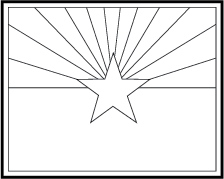 State Flag Coloring Pages Flag Coloring Page
