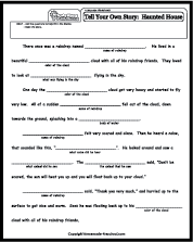 Language Worksheets Stories