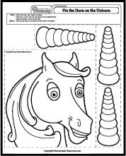 Inventive image intended for unicorn horn printable