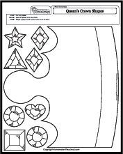 worksheet-math-crown-jewel Queen Worksheet For Pre on prefixes re, writing shapes, printable letter, tracing shapes, grade printable, algebra fractions, printable matching,