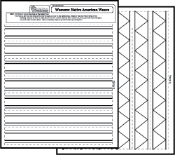weaving coloring pages - photo#25