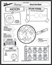 Worksheets Moon Worksheets moon worksheets elleapp