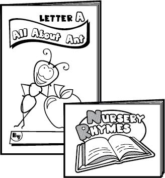 preschool printable books - Printable Preschool Books