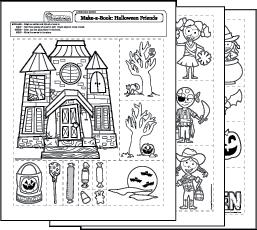halloween worksheets. Black Bedroom Furniture Sets. Home Design Ideas