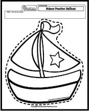 Art Worksheets Scissor Practice