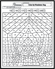 Click To Download Worksheet Need Special Color By Number Coloring Pages