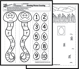 Number recognition worksheets &- activities | Number recognition ...