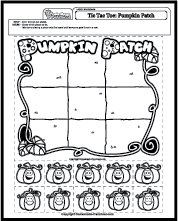 math worksheet : tic tac toe pumpkin patch : Tic Tac Toe Math Worksheets