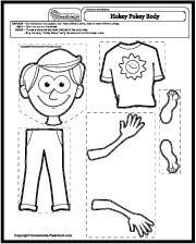 Science Worksheets Body