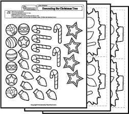 math worksheet : christmas worksheets : Preschool Christmas Math Worksheets